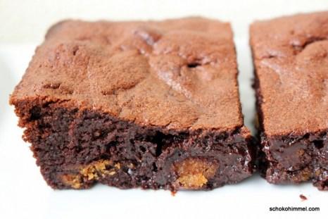 schokoladige Spekulatius-Brownies