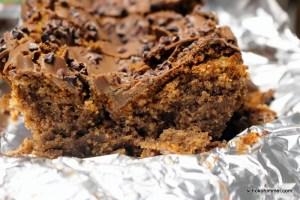 Maronen-Kuchen, cremig aber unschneidbar