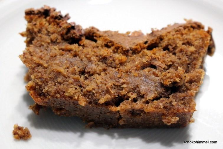 Mit Espresso und Maronencreme: Mandelkuchen