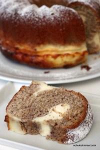 Haselnuss-Hupf mit Cheesecake-Spuren