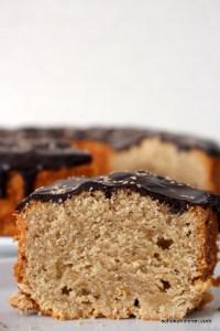 supersaftiger Kuchen mit Sesampaste