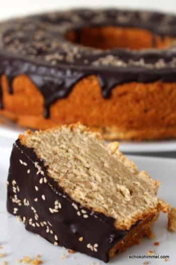 nussig-süßer Tahini-Kuchen