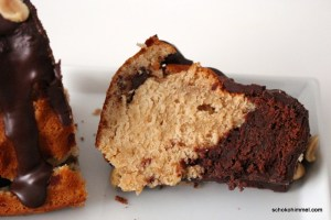 Erdnussbutter und Schokolade, ein Kuchentraum