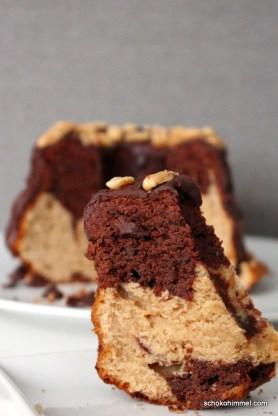 Cremiger Erdnussbutter-Marmorkuchen