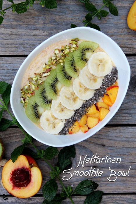 Nektarinen Smoothie Bowl 1