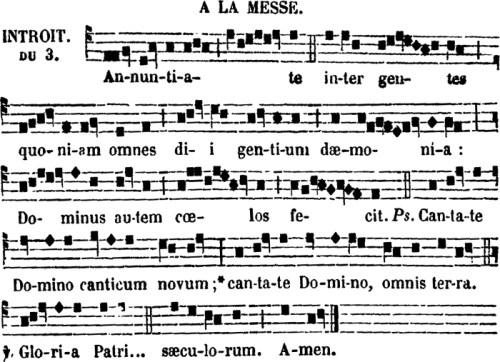Introït de saint Denys