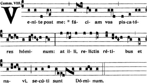 Communion de la Fête de saint André