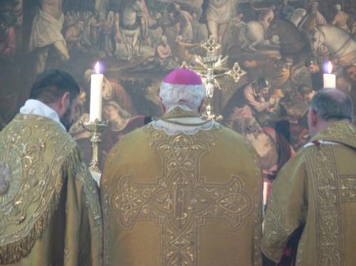 Messe pontificale à Merton College, Oxford