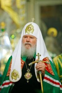Alexis II, patriarche de Moscou & de toutes les Russies