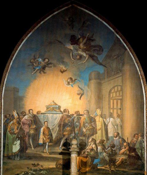 saint Eugène par Francisco Bayeu