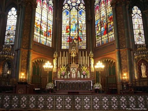 Le chœur de Saint-Eugène