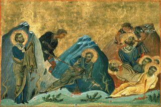 Saints Apôtres Stachys, Amplias, Urbain, Aristobule, Narcisse & Apellès