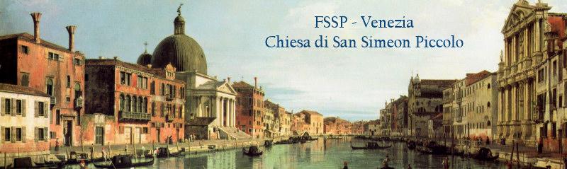Le site web de la Fraternité Saint-Pierre à Venise