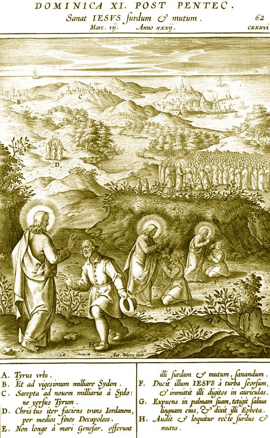 Programme du XIème dimanche après la Pentecôte
