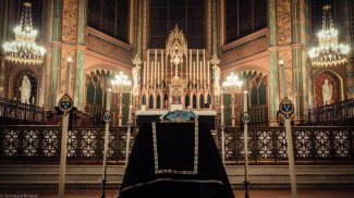 Catafalque pour le Requiem solennel pour le roi Louis-XVI