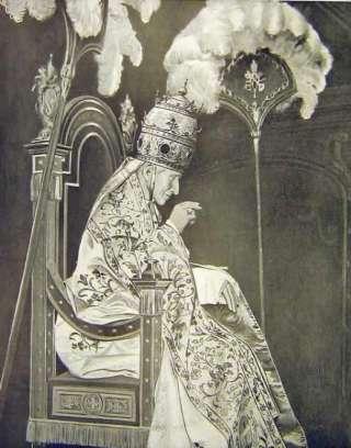 Sa Sainteté le Pape Léon XIII