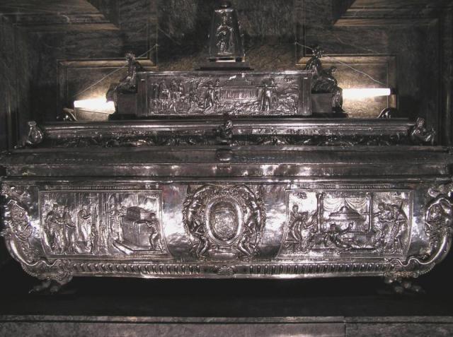 Reliquaire du corps de saint Eugène, cathédrale de Tolède