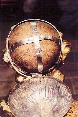 Chef du glorieux et illustre martyr saint Mammès