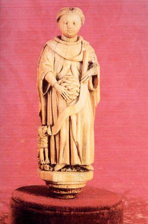 Saint Mammès - ivoire du XVème siècle
