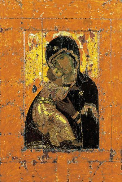 Vierge de Vladimir (recto)
