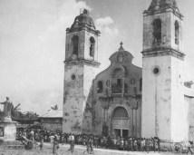 Cathédrale de Palo sur l'île de Leyte aux Philippines