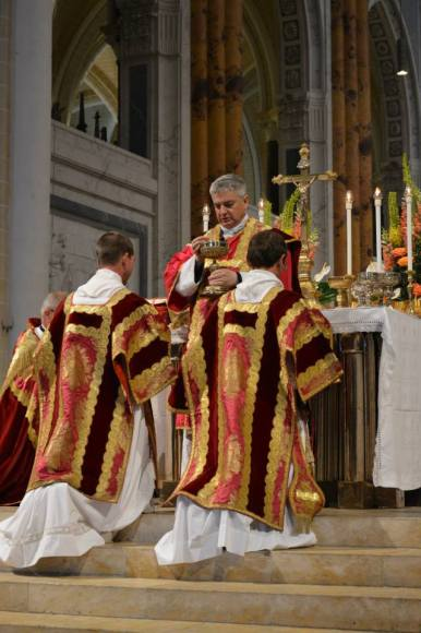 41 - Messe pontificale du lundi de Pentecôte célébrée par Mgr Aillet dans la cathédrale de Chartres - Ecce Agnus Dei