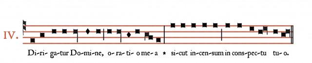 Dirigatur du IVème ton