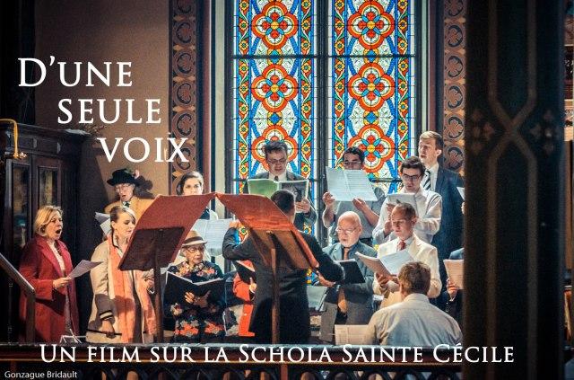 D'une seule voix - un film sur la Schola Sainte Cécile