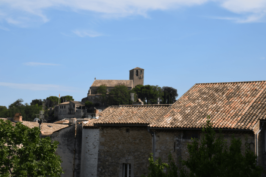 01 La collégiale Saint-Martin de Bollène vue depuis le couvent des Sacramentines