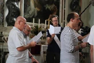 05 - répétition avec les Films du Lutrin nous filmant