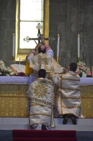 07 - Messe de la fête de Notre-Dame della Guardia - à l'élévation du Sang du Seigneur