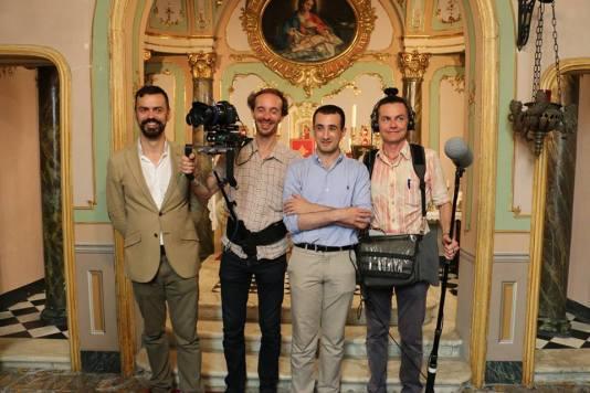 15 - Les Films du Lutrin avec le maître de chapelle