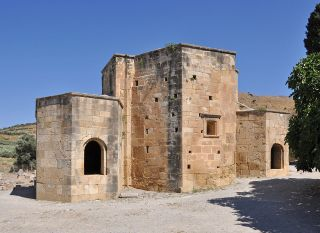 Basilique Saint-Tite à Gortyne en Crète