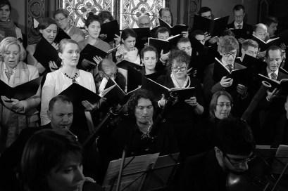 01 La Schola Sainte Cécile lors de la solennité de sainte Cécile 2014