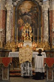 Messe de la fête du saint Cœur de Marie près de Turin 01