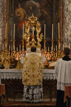Messe de la fête du saint Cœur de Marie près de Turin 03