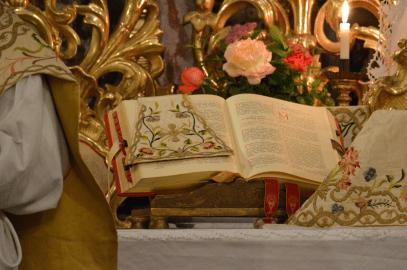Messe de la fête du saint Cœur de Marie près de Turin 06