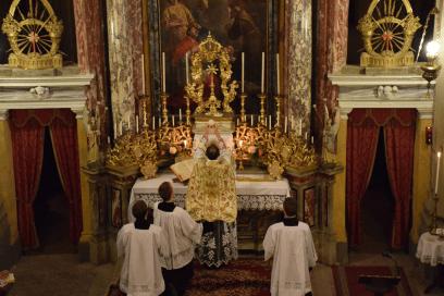 Messe de la fête du saint Cœur de Marie près de Turin 08