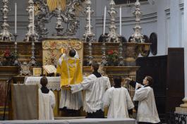 Messe de saint Louis à Turin 03