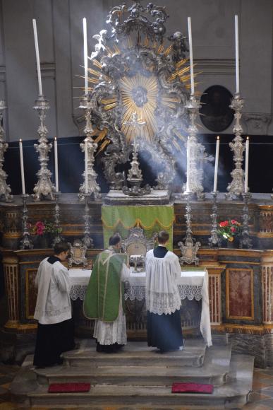 Messe du XIème dimanche après la Pentecôte à Turin 13