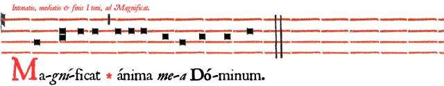 Magnificat Ier ton en A