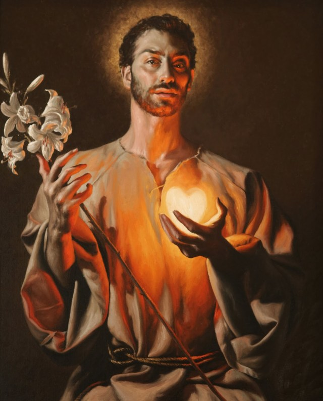 Giovanni Gasparro - saint Joseph - Basilica di San Giuseppe Artigiano a L'Aquila