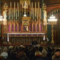 Son Eminence le cardinal Sarah à Saint-Eugène 07
