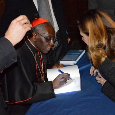 Son Eminence le cardinal Sarah à Saint-Eugène 13
