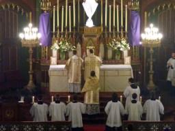 08 - Jeudi Saint 2015 - au canon de la messe