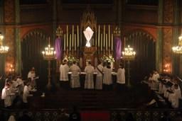 24 - Jeudi Saint 2015 - dépouillement des autels