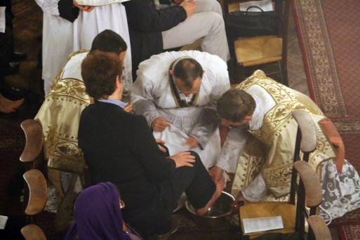 26 - Jeudi Saint 2015 - au Mandatum