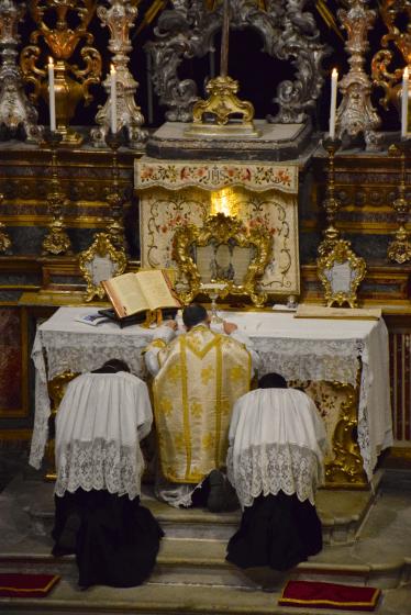 04 Messe de la fête de sainte Catherine de Sienne à l'église de la Miséricorde à Turin