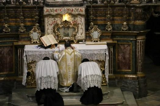 09 Messe de la fête de sainte Catherine de Sienne à l'église de la Miséricorde à Turin