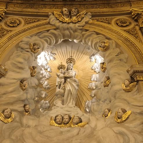 13 Messe de la saint Yves en la chapelles des Spiritains - La Vierge Marie